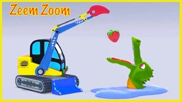 FEEDING CROCODILES - Zeem Zoom Cartoons Games For Children To Learn To Count To 7