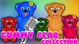 Gummy Bear Finger Family Collection  Top 30 Finger Family Collection  Finger Family Songs