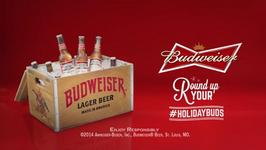 Budweiser Encourages Drinkers To Round Up Your Buds This Holiday Season