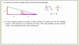 Scale Factor, Similar Triangles, And Proportions