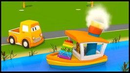 Clever Car MUSIC CONCERT - Car Cartoons For Children - Learn Instrument Names
