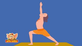 Learn Yoga - Virabhadrasana I