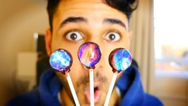 Galaxy Lollipops - The Coolest Candy Ever