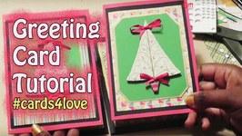 Cards4Love - Greeting Card Tutorial - GiftBasketAppeal