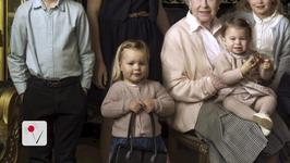 Two-Year-Old Mia Tindall Steals Spotlight in Queen's Birthday Portrait