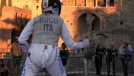 Modern day Titans battle it out at Fencing Marathon