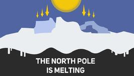 London and the North pole are getting closer!