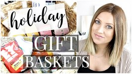 Holiday Gift Baskets - For the Homemaker & Spa Lover