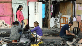 Fire in Sao Paulo Slum Leaves Hundreds Homeless