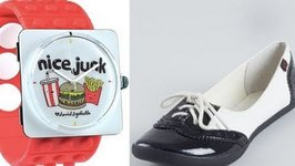 Inexpensive: Watches, Shoes and Bath Products
