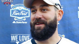 Dodgers Chris Hatcher Talks About Getting Traded While Abroad