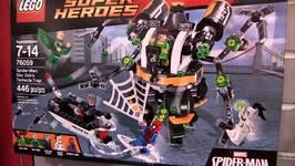 LEGO Marvel Spider-Man : Doc Ock's Tentacle Trap NYTF Teaser : LEGO 76058