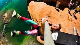 Pole Vault Cliff Jumping Olympics - DEVINSUPERTRAMP