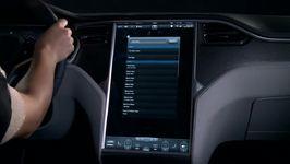 Tesla Model S TOUCHSCREEN Demonstration