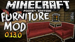 MORE FURNITURE in MCPE - The Furniture Mod for 0 13 0 - Minecraft PE-Pocket  Edition