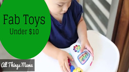 Fab Toys Under 10: That fit in your Diaper Bag!