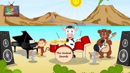 The Animal Sounds  Animal Sound Song  English Nursery Rhyme