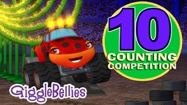 Monster Trucks Counting Competition