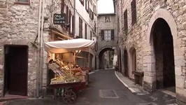Vence In Provence - France