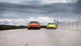 Porsche 911 GT3 RS and Porsche Cayman GT4 Driving Video