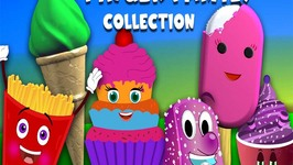 Food Finger Family Collection  Finger Family Songs  Ice cream Finger Family Collection