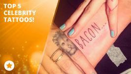 Super-downsize me: Top 5 female celeb mini tattoos!