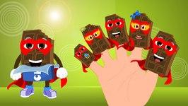 Chocolate Bar Finger Family Songs  SuperHero Chocolate Finger Family  Finger Family chocolate