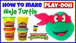 TMNT Play Doh Character How To Make A Play Dough Ninja Turtle