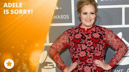 Adele is so sorry about the bad news!