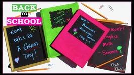 Back To School Projects & VersaChalk Giveaway!!! Craft Klatch