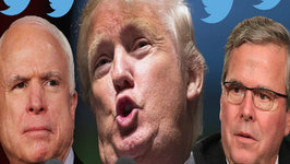 Donald Trump Trolls John McCain and Retweets Murderer
