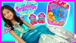 Splashlings Blind Bags And MERMAID 12 Pack With ULTRA Rare Toys