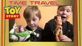 Toy Story 4 - Time Travel Woody - Buzz Lightyear - Puppy Dog - Disney Pixar