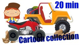Car Cartoons And Animated Series  Doctor McWheelie And Cars  Cartoon Collection  Part 6