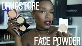 Top 5 Drugstore Facial Powder  - Dark Skin Highlight