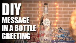 Mad Stuff With Rob - How To Make A Message In A Bottle Greeting