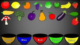 Fruits And Vegetables Colors Color Sor