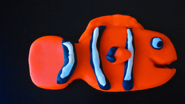 Clownfish Play-Doh