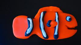 Clownfish Play-Doh