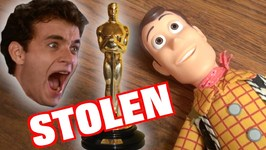TOY STORY 4  Tom Hanks Stolen OSCAR - Woody  Buzz Lightyear  Disney Pixar