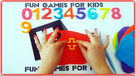 Colorful Play Doh Numbers - Learn Prime Numbers - Counting Real Numbers 1-10