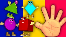 Shapes Finger Family For Babies - Nursery Rhymes - Kids Shape songs