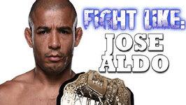 How To Fight Like Jose Aldo - 3 Signature Moves