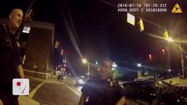 Pokemon Go Player Caught on Camera Crashing Into Police Car