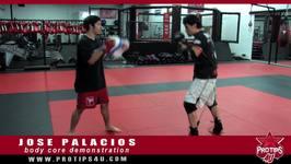 MMA Tips: Jose Palacios shows ProTips4U his body core workout demonstration