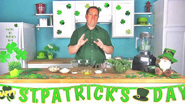 Chicken and Kale Dog Treats - Cooking for your Pets - St. Patricks Day