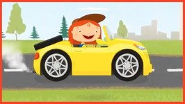Kid's Cartoons - Car Trailer - Doc McWheelie Moving Home  Car Doctor