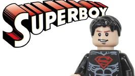 LEGO Batman 2 DC Super Heroes Justice League Custom Superboy Review