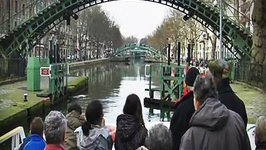 Cruise Le canal Saint-Martin, Paris France