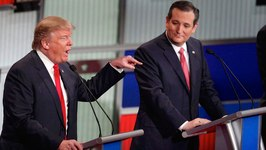 GOP Debate Trump, Cruz Clash Over Citizenship, New York Values